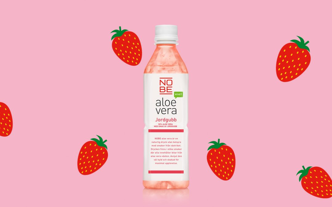 New flavour – NOBE aloe vera Strawberry