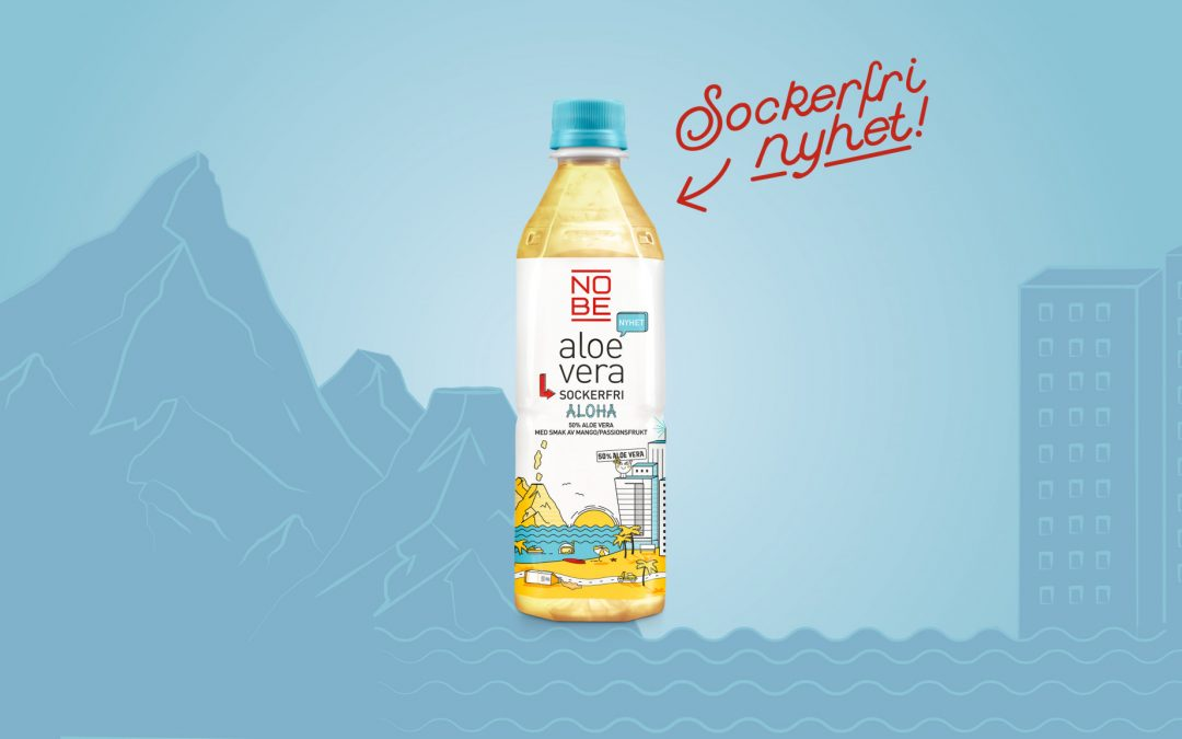 NOBE aloe vera goes Hawaii: Aloha sockerfrihet!